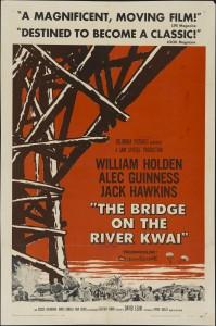 El puente sobre el río Kwai__poster