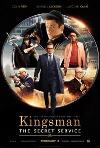 Kingsman servicio secreto_poster