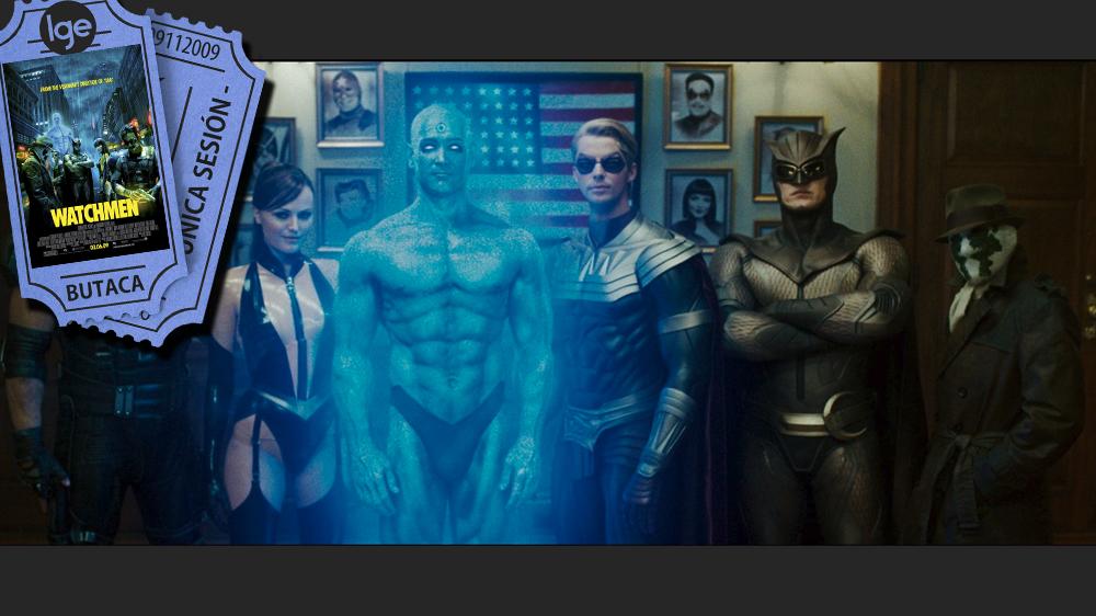 Top superheroes_ The Wathchmen