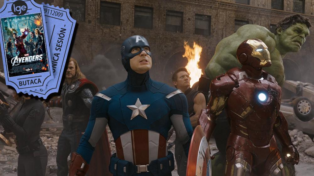 Top superheroes_Los Vengadores